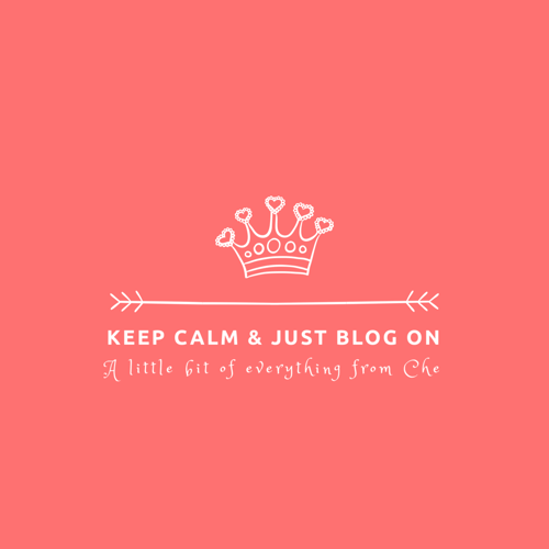 Keep Calm and Just Blog On